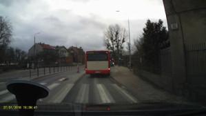 Utrudnienia przez kierowców autobusów