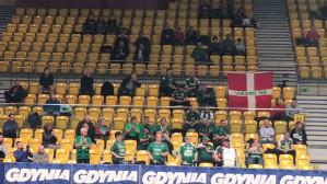 Doping kibiców z Danii w Gdyni