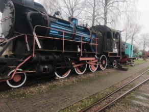 Z kamerą wśród lokomotyw Muzeum Kolejnictwa