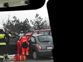 Wypadek na Świętokrzyskiej
