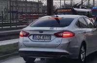 Skutki wypadku na ul. Morskiej w Gdyni