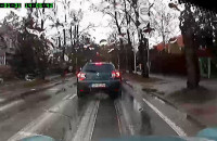 Wyprzedzanie na podwójnej ciągłej linii i skrzyżowaniu