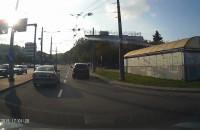 """""""Pełna kultura"""" jazdy w centrum Gdyni"""
