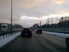 Obwodnica 50 km/h od Owczarni w kierunku A1
