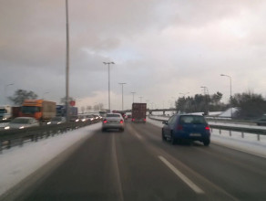 Przyczyną korka w kierunku Gdyni