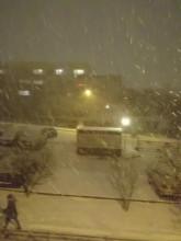 Pada śnieg na Obłużu