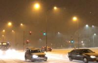 Śnieżyca na Ujeścisku