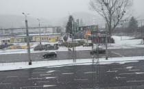 Intensywne opady śniegu w Trójmieście