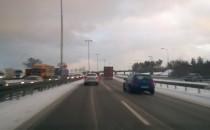 Przyczyną korka w kierunku Gdyni awaria...