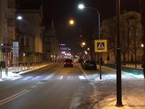 Nowe oświetlenie LED na przejściach dla pieszych w Sopocie