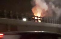 Pożar auta na Armii Krajowej