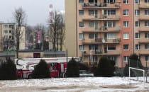 Zadymienie w mieszkaniu na ul. Rozewskiej...