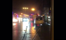 Nocny pożar w Sopocie przy Bohaterów Monte...