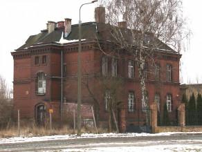Stary budynek nieopodal Motławy