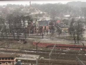 Śnieg dotarł do Gdańska. Grube płatki