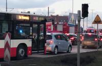 Duży korek po wypadku tramwaju