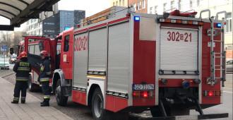 Straż pożarna wezwana do szpitala wojewódzkiego