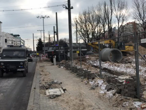 Saperzy w centrum Gdyni