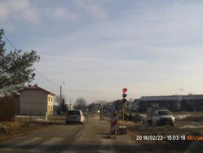 Pędzący autem daltonista