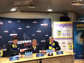 Podpisanie umowy między Arka Gdynia SI i SSA