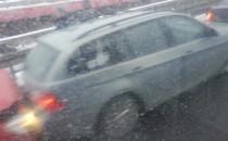 Zderzenie trzech aut na Estakadzie...