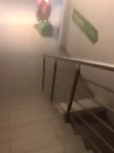 Filmik z ewakuacji galerii na Morenie