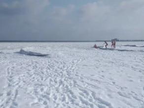 Filmowa pocztówka z plaży w Sopocie