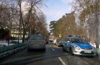 Stłuczka w Sopocie policja kieruje ruchem
