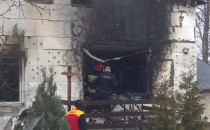 Skutki pożaru na Inżynierskiej w Gdańsku