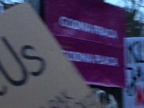 Manifa ruszyła - transparenty