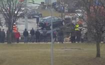 Siedlce: usunięto auto z torów, tramwaje...