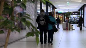 Niedziela bez handlu w centrum handlowym Metropolia