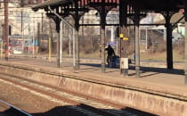 Zamknięcie IV peronu na Dworcu Głównym w...