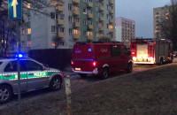 Straż pożarna i policja na Witominie