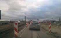 Ruch wahadłowy na ulicy Starogardzkiej...