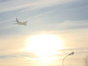 Antonow na podejściu do lądowania