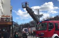Zamieszanie i straż pożarna przy Ankerze w Gdyni