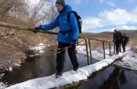 Zimowa wędrówka Szlakiem Skarszewskim
