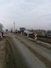 Uszkodzona rura gazu w Borkowie