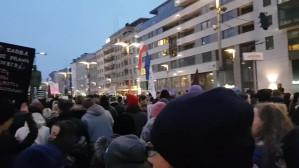 Protest kobiet w Gdyni