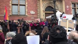 Protest kobiet w Gdańsku