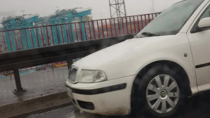 Zderzenie taxi z autobusem