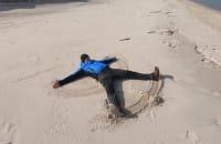 Wędrówka wśród piasków Mierzei Sarbskiej