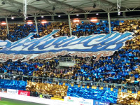 Oprawa  na meczu Arka - Legia 1:0