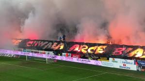 Race na meczu Arka Gdynia - Legia Warszawa