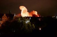 Detonacja bomby lotniczej w Monachium