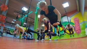Trening na linach - Lejdis Bungee