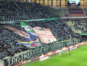Oprawa Lechii Gdańsk na 39. derby