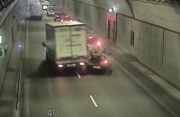 Wypadek w tunelu pod Martwą Wisłą