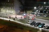 Koniec akcji strażaków na ulicy Szarej